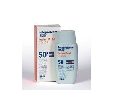 FOTOPROTECTOR ISDIN SPF-50+ FUSION FLUID COLOR 50 ML (iva21)