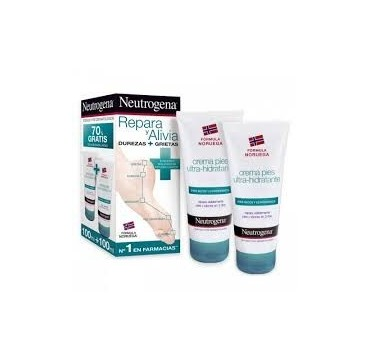 NEUTROGENA PIES CREMA ULTRAHIDRA 100 ML + 100 ML (iva21)