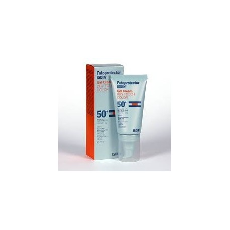 FOTOPROTECTOR ISDIN SPF-50+ GEL CREMA DRY TOUCH COLOR 50 ML (iva21)
