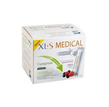 XLS MEDICAL DIRECT STICKS CAPTAGRASAS 90 STICKS (iva10)