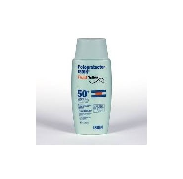 FOTOPROTECTOR ISDIN SPF-50+ FLUID TATOO 100 ML (iva21)