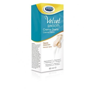 DR SCHOLL VELVET SMOOTH PIES CREMA DIARIA 60 ML (iva21)