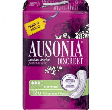 AUSONIA DISCREET NORMAL 12 U