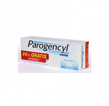 PAROGENCYL CONTROL PASTA DENTAL DUPLO 125 ML