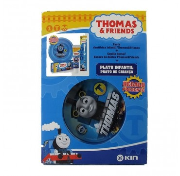 KIN PACK PASTA + CEPILLO + PLATO THOMAS & FRIENDS