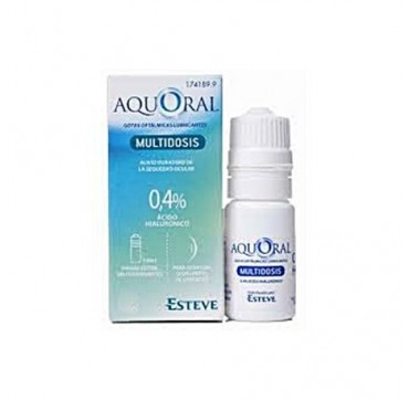 AQUORAL GOTAS HUMECTANTES C/ A HIALURONICO 0.4% MULTIDOSIS 10 ML