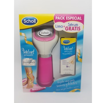 DR SCHOLL VELVET SMOOTH LIMA ELECTRONICA DIAMOND ROSA