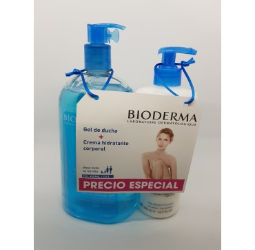 BIODERMA ATODERM DUO CREMA 500ML + GEL 1LIT