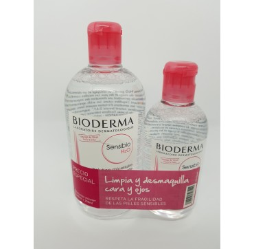 BIODERMA SENSIBIO PACK 500ML + 200ML