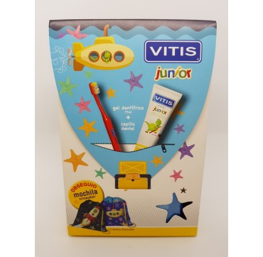 VITIS CEPILLO DENTAL INFANTIL JUNIOR + GEL + REGALO