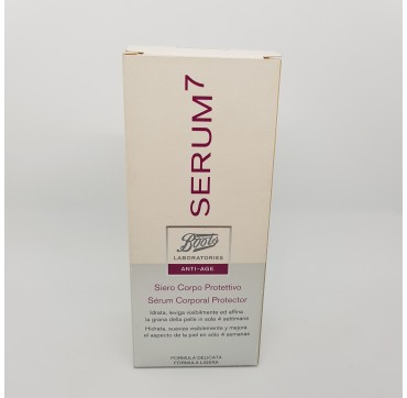 BOOTS SERUM 7 SERUM CORPORAL REAFIRMANTE 150 ML