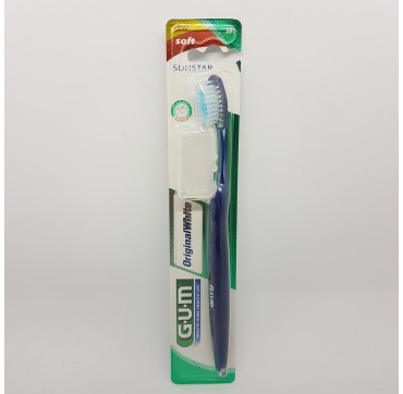 GUM CEPILLO DENTAL ADULTO 561 ORIGINAL WHITE SUAVE