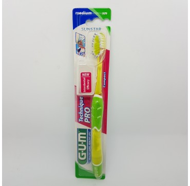 GUM CEPILLO DENTAL ADULTO 528 TECHNIQUE PRO COMP T MEDIO (iva21)