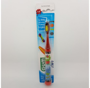 GUM CEPILLO DENTAL JUNIOR 903 C/ LUZ MONSTRUOS