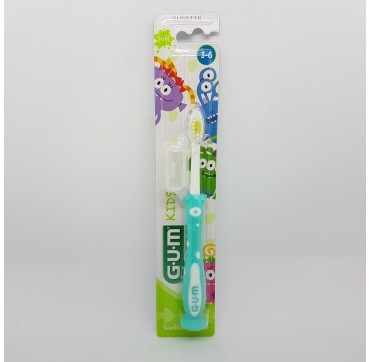 GUM CEPILLO DENTAL KIDS 901 MONSTRUOS