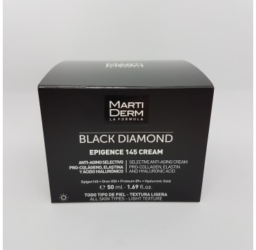 MARTIDERM BLACK DIAMOND EPIGENCE 145 CREAM DIA 50 ML