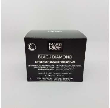 MARTIDERM BLACK DIAMOND EPIGENCE 145 SLEEPING CREAM NOCHE 50 ML