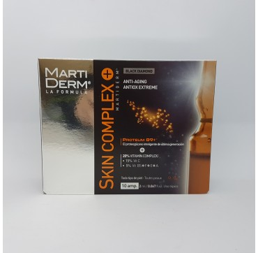 MARTIDERM BLACK DIAMOND SKIN COMPLEX+ 2 ML 10 AMP
