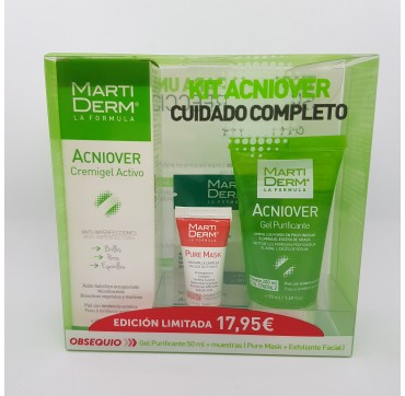 MARTIDERM KIT ACNIOVER CREMIGEL 40ML + GEL 50ML