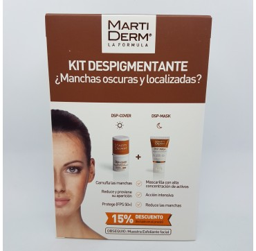 MARTIDERM KIT DESPIGM DSP-COVER+DSP-MASK