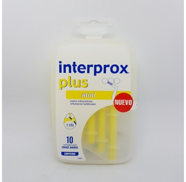 INTERPROX PLUS MINI CEPILLO DENTAL INTERPROXIMAL 10 U