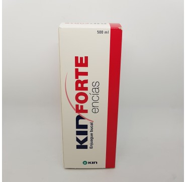 KIN FORTE ENCIAS ENJUAGUE BUCAL 500 ML (iva21)