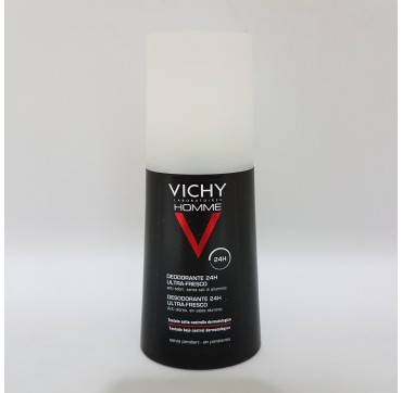 VICHY HOMME DESODORANTE SPRAY ULTRA FRESCO 100 ML (iva21)