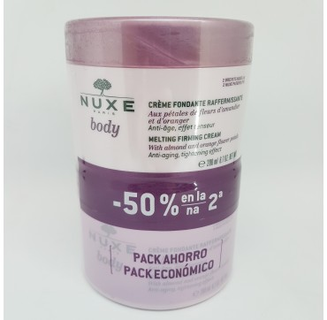 NUXE BODY CREMA FONDANTE REAFIRMANTE 200ML DUPLO
