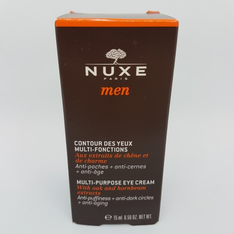 NUXE MEN CONTORNO OJOS MULTIFUNCIONES 15ML