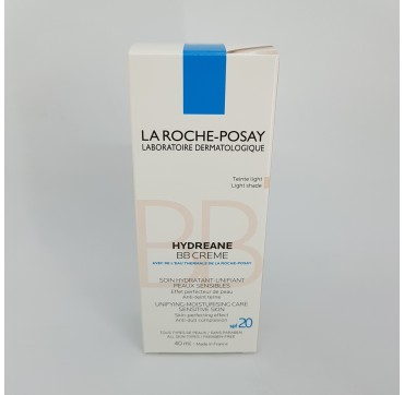 LA ROCHE POSAY HYDREANE BB CREMA HIDRATANTE COLOR PIEL SENSIBLE LIGHT 40 ML (iva21)