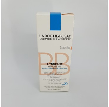 LA ROCHE POSAY HYDREANE BB CREMA HIDRATANTE COLOR PIEL SENSIBLE MEDIUM 40 ML (iva21)