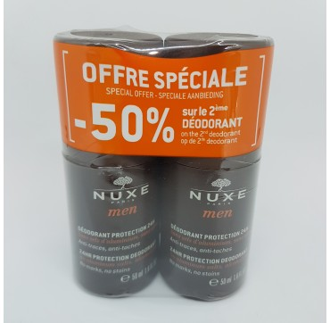 NUXE MEN DESOSORANTE ROLL-ON 50ML DUPLO