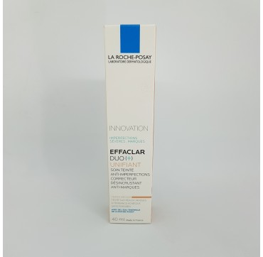 EFFACLAR DUO (+) UNIFIANT TONO INTERMEDIO 40 ML