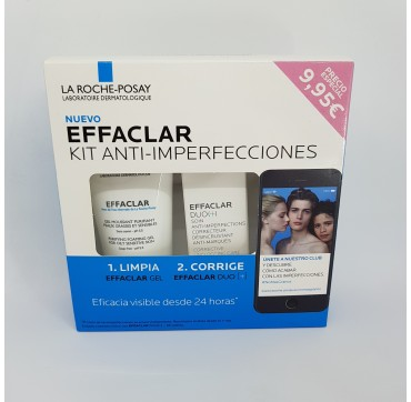 LA ROCHE POSAY EFFACLAR KIT ANTIIMPERFECIONES (DUO 15ML + GEL 50ML)