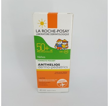LA ROCHE POSAY ANTHELIOS SPF 50+ DERMOPEDIATRICS LECHE 40 ML