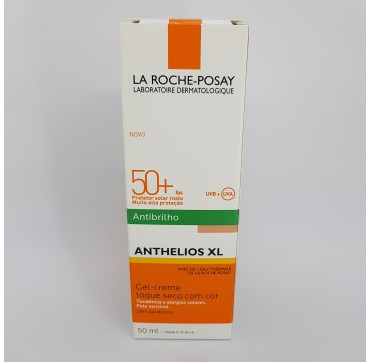 LA ROCHE POSAY ANTHELIOS SPF 50+ GEL CREMA TOQUE SECO PERFUME COLOR 50 ML