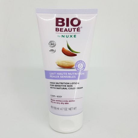 NUXE BIO BEAUTE LAIT HIGH NUTRITION COLD CREM CORPORAL 150 ML (iva21)