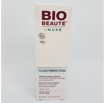 NUXE BIO BEAUTE FLASH PERFECTION SERUM 40ML