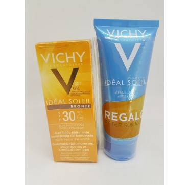 VICHY IDEAL SOLEIL SPF 30 GEL OPTIMIZADOR DEL BRONCEAD 50 ML