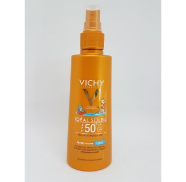 VICHY CAPITAL SOLEIL SPF 50+ SPRAY INFANTIL PISTOLA 200 ML (iva21)