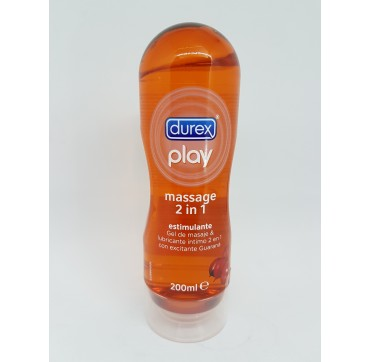 DUREX PLAY MASSAGE ESTIMULANTE LUBRICANTE HIDROS 200 ML