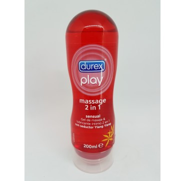 DUREX PLAY MASSAGE SENSUAL LUBRICANTE HIDROSOLUB 200 ML