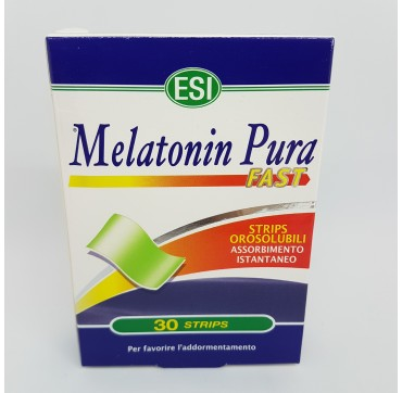 ESI MELATONIN PURA FAST 1 MG 24 STRIPS