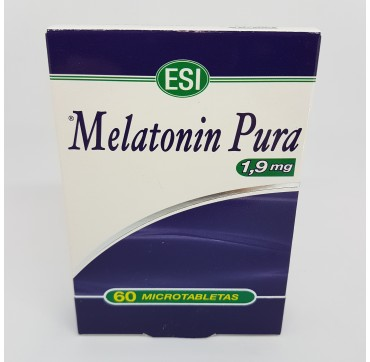 ESI MELATONIN PURA 1.9MG 60 TABLETAS