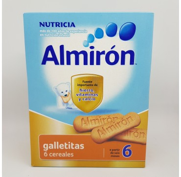 ALMIRON ADVANCE GALLETITAS 6 CEREALES 180 G