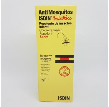 ISDIN ANTIMOSQUITOS SPRAY PEDIATRICS REPELENTE 100 ML