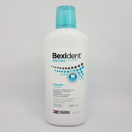 BEXIDENT ENCIAS COLUTORIO TRICLOSAN 500 ML