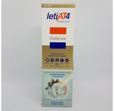 LETI AT-4 DEFENSE BARRERA MULTIPROTECTORA SPF 50+ 100ML
