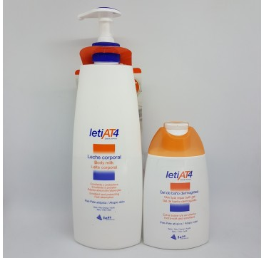 LETI AT-4 LECHE CORPORAL 500 ML (iva21)