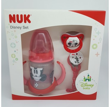 NUK BIBERON DISNEY MINNIE SET